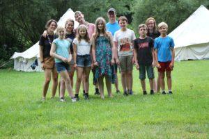 Gruppenfoto Juffi-Sommerlager 2020
